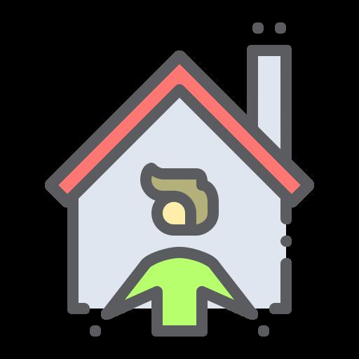 Stay, home, covid19, isolation, self, coronavirus icon - Free download