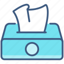 bathroom, clean, tisue, water, wipes icon
