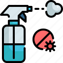chemical, clean, cleaning, desinfectant, detergent, spray, wash