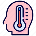degrees, fever, people, temperature, thermometer