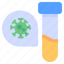 biology, coronavirus, lab, laboratory, life, scientist, virus icon