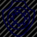 antivirus, bacteria, coronavirus, covid, protection, shield, virus icon