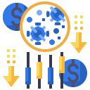 chart, finance, graph, investment, stocks icon