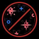 bacterium, biology, cell, coronavirus, virus icon