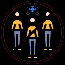 coronavirus, group, men, people, users