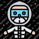 protective, suit, hazmat, helmet, mask