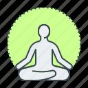 yoga, meditation, lotus, mental health, mental wellbeing, emotional wellbeing