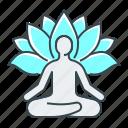 health, yoga, meditation, lotus, mental health