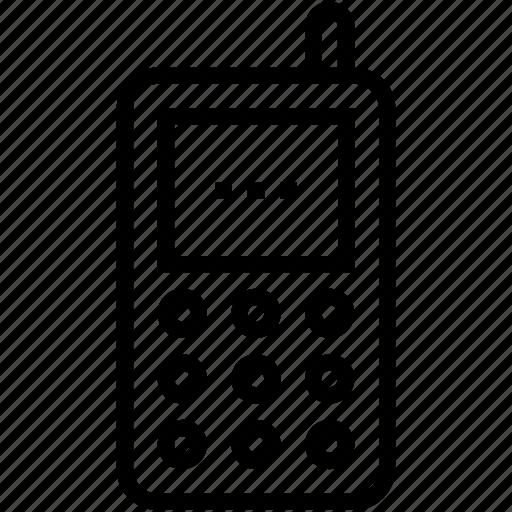 Cordless phone, intercom, police radio, radio transceiver, walkie talkie icon - Download on Iconfinder