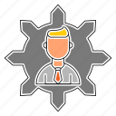 arrows, business, corporate, opportunity icon
