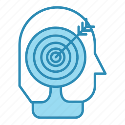 corporate business, goal, head, headhunter, seo, target icon