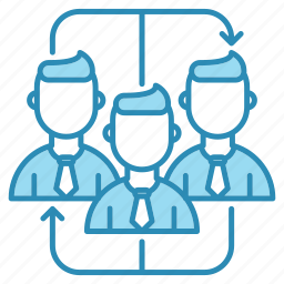 corporate, corporate business, group, team, teamwork icon