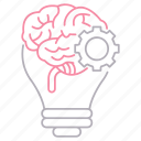 brain, brainstorm, corporate business, idea, thinking icon