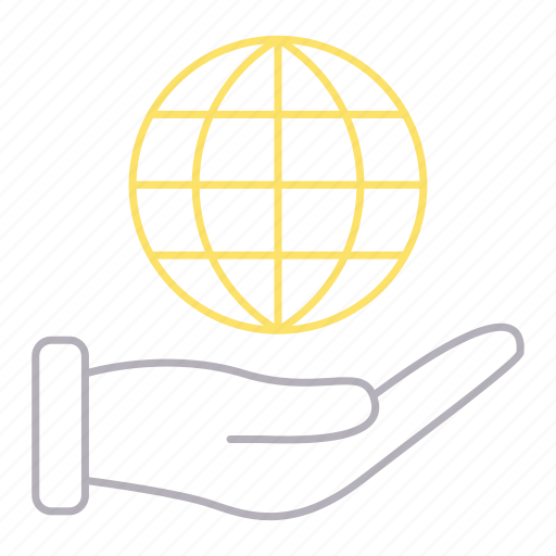 business, corporate business, global, solution icon