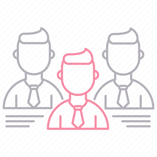 corporate business, leadership, team, teamwork icon