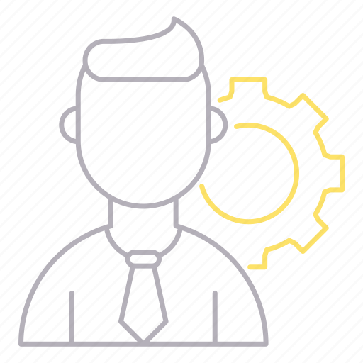 cog, corporate business, management, setting icon