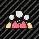 business, group, leader, team, teamwork, user icon