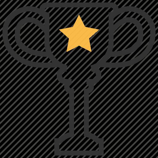 achievement, award, prize, reward, star, trophy, winner icon