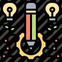 ability, creative, efficiency, idea, performance icon
