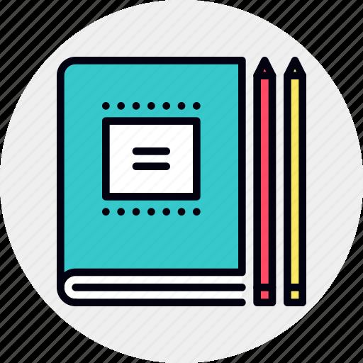 Book, business, education, notebook, school, workbook icon