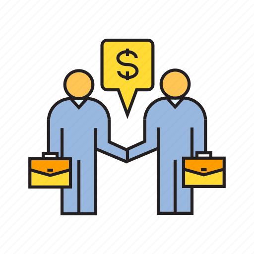 business, business deal, collaborate, deal, management, people, sale icon