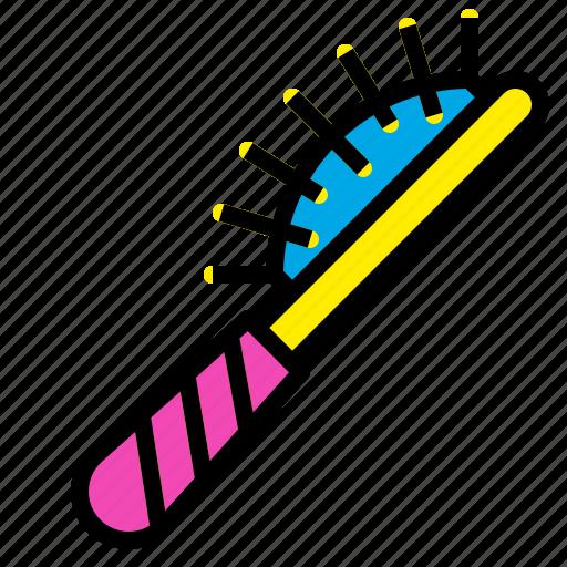 Comb, hair, hairbrush, hairdresser, salon icon - Download on Iconfinder