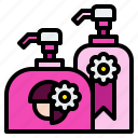 bottle, conditioner, hair, shampoo, shower icon