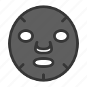 charcoal, charcoal mask, cosmetic, face mask, makeup, mask icon