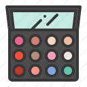 cosmetic, eyeshadow, makeup icon