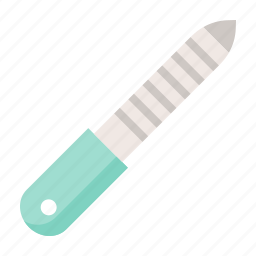 beauty, cosmetic, makeup, nail files icon
