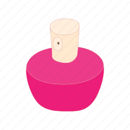 bottle, cartoon, container, fashion, glass, luxury, perfume icon