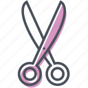 cosmetics, cut, cutting, scissor, scissors, tool icon