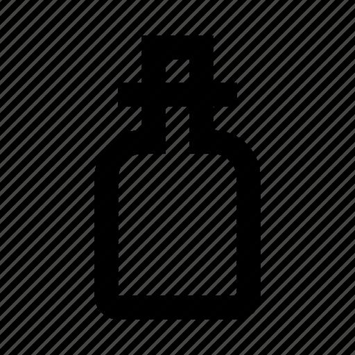 beauty, bottle, cosmetics, flask, makeup, woman icon