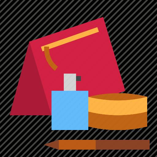 bag, cosmetics icon