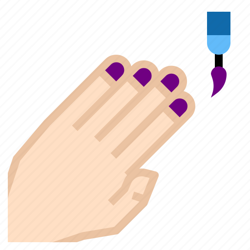 nail, polisha icon