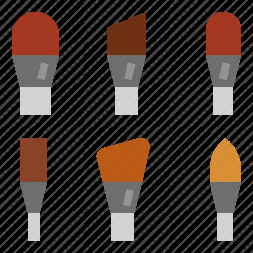 Brush, makeup icon - Download on Iconfinder on Iconfinder