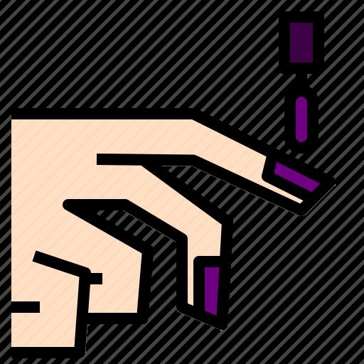 Nail, polisha icon - Download on Iconfinder on Iconfinder