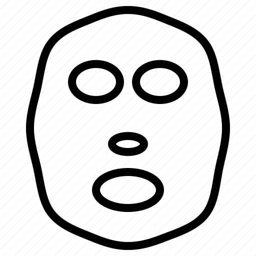 Makeup, facemask icon