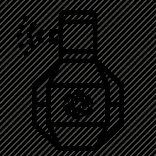 perfume, spray icon