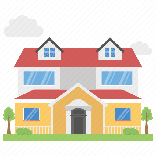 apartments, building, cottages, flats, residential flats icon