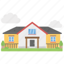 apartment, banglow, flats, hotel, motel, rest house icon