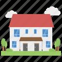 city home, hut, modern house, urban home, villa