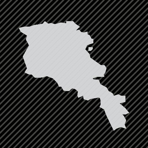 armenia, country, nation icon