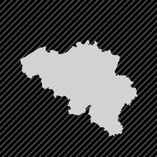 belgium, country, nation icon