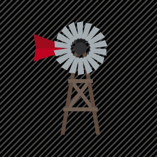 agriculture, architecture, countryside, farm, turbine, windmill icon