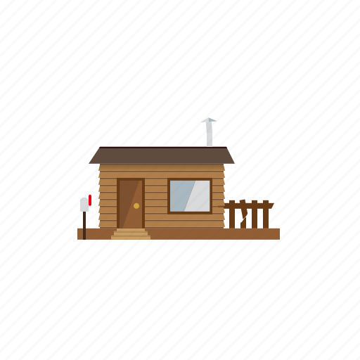architecture, building, countryside, home, hut, shed, wooden icon