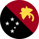country, guinea, new, papua icon
