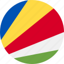 ball, country, flag, seychelles icon