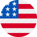 america, flag, of, states, united icon