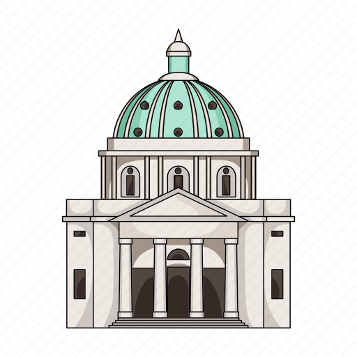 architecture, building, country, denmark, sightseeing, travel icon